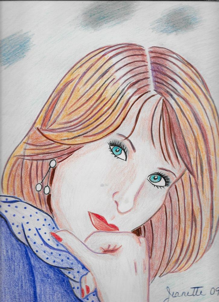 Barbra Streisand by Jeanette